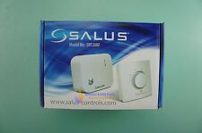SALUS ERT20RF ELECTRONIC CENTRAL HEATING WIRELESS THERMOSTAT WITH RF
