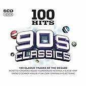 Various - 100 Hits 90s Classics (2013)  5CD Box Set  NEW/SEALED  SPEEDYPOST