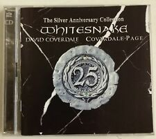 Whitesnake Coverdale - Page  The Silver Anniversary Collection 2-CD UK 2003