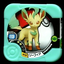 "POKEMON JETON COIN CARRE ""COUNTER"" - N° U4-29 Leafeon リーフィア"