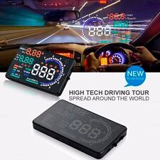 Car HUD Head Up Scanner System Fuel Consumption Display with OBD 2 Interface