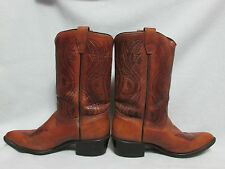 ACME 2-Tone Leather Cowboy Boots Western Ranch Equestrian Style 2318 Size 5D USA