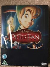 Disney - Peter Pan - Zavvi Blu Ray Steelbook