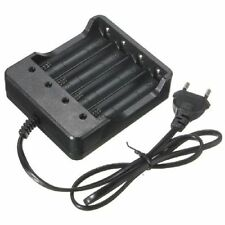 Useful Eu Plug 4Slots Battery Charger With Protection 18650 Lithium-Ion Battery