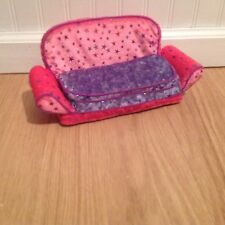 ONLY HEARTS CLUB PULL OUT COUCH SLEEPER SOFA PINK & PURPLE