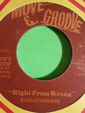 MOVE & GROOVE RIGHT FROM WRONG A HANDFUL OF FRIENDS / PAT SATCHMO  KINGSTONIANS