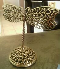 Brighton silver plated dragonfly earring tree
