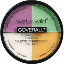Wet n Wild COVERALL CORRECTING PALETTE 349 Color Commentary ~ DELIGHTFUL BEAUTY