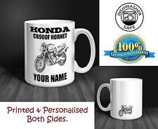Honda CB900F Hornet Motorbike Personalised Ceramic Mug Gift (MB004)
