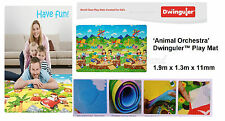 Dwinguler Kid's Playmat baby rug kids floor mat Animal Orchestra Made in Korean