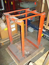 Meco Omaha 4 Cylinder CP4 Pallet Fork Truck Lift Stand Rack