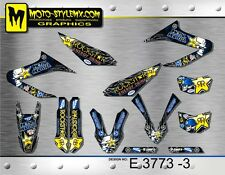 Yamaha WR 125 R&X 2009 up to 2016 graphics decals kit stickers Moto StyleMX