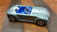 RARE 2005 FORD SHELBY COBRA CONCEPT * SILVER * FIRST EDITION * HOT WHEELS