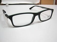 Authentic Ray-Ban RB 7017 5197 Black Green Eyeglass Frames 54-17 145 RX $239.99+