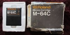 Roland M-64C Memory Data Cartridge for TR-909 707 JX10 JX8 MKS Free Shipping
