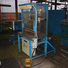 Dual Head letter numbering stamp TWIN RAM HYDRAULIC PRESS FESTO CONTROL PARKER