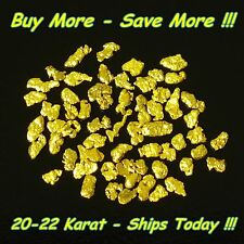 .430 Gram Natural Raw Alaskan Placer 18k 20k Gold Nugget Flake Fines Dust Alaska
