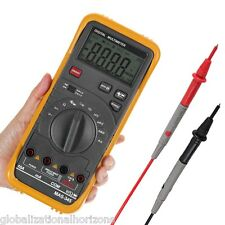 Professional Digital Multimeter AC DC Voltage Current Capacitance Tester Meter