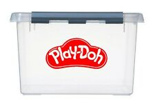 4x small PLAY-DOH Logo Vinyl Stickers Decals for storage box & container