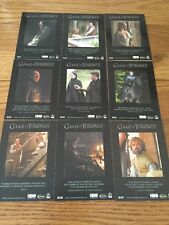 Game Of Thrones Season 5 Quotable Cards Q41 To Q49 Set of 9 Cards