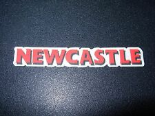 "NEWCASTLE Red 3"" Logo STICKER decal craft beer brewery brewing"