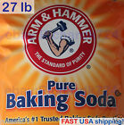 Arm & Hammer Pure Baking Soda - 27 LB - Twenty-Seven Pounds (FAST SHIP)