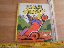 Uncle Wiggily and his funny auto 1940 Whitman book Howard Garis VINTAGE