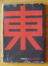 WILLIAM KLEIN - TOKYO 1964 RARE 1ST ENGLISH EDITION HARDCOVER W/ JACKET