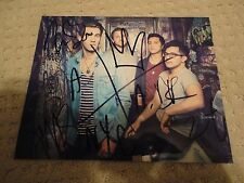 AMERICAN AUTHORS SIGNED BEST DAY OF MY LIFE PHOTO BELIEVER 4X ZAC BARNETT COA!!