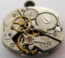 used FEF 17j. Mido 2M sweep second watch movement for parts ...