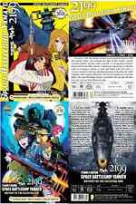 DVD ANIME SPACE BATTLESHIP YAMATO 2199 TV Series + 2 Movies Complete Set Eng Sub