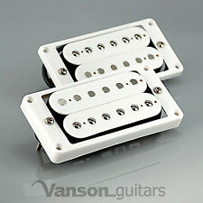 NEW Vanson '57 Alnico II PAF style Humbucker Set for Gibson ®, Epiphone ®* WHITE