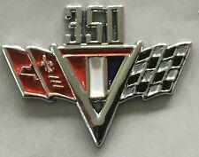 Bowtie 350 flags small block lapel pin badge.    H040301