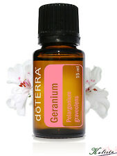 doTerra Geranium Essential Oil 15ml - New and Sealed - Free shipping
