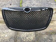 CHRYSLER 300C 300 C BENTLEY STYLE FRONT RADIATOR GRILLE GRILL BLACK NEW