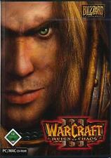 WARCRAFT 3 III - REIGN OF CHAOS  * DEUTSCH * Top Zustand