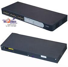 24-Port 24x 10/100 rete switch 3com BASELINE SWITCH 2024 3c16471b GRIGIO SCURO