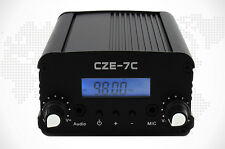 7W Fm Transmitter (76-108Mhz) + Power Supply + Car and Home Antenna + Audio Line