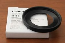 OFFICIAL Canon lens hood ES-52 Airmail with Tracking
