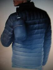 NWT Mens Tommy Hilfiger Midnight Blue Nylon Packable Quilted Down Jacket Coat L