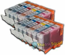 12 CLI-8 Chipped Ink Cartridges for Canon Pixma iP6700D