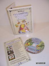 Many Adventures Winnie the Pooh (DISNEY 2002 25th Anniv) CHILDRENS Animation OOP