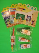 1992 McDonalds - Music is Our World set of 4 *MIP* with 3 Boxes *Intl* *UK*