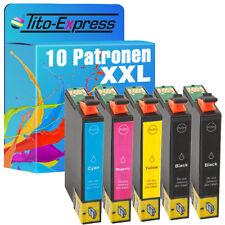 10 Tintenpatronen EcoSerie für Epson Stylus SX430W S22 SX125 SX130 TE1281-84