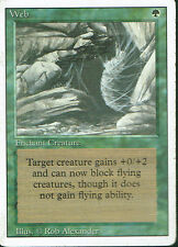 MAGIC THE GATHERING REVISED GREEN RARE WEB