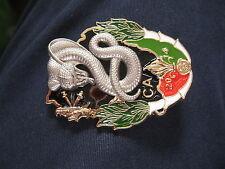 Fremdenlegion Schlange 2014 Dschungel  Guyane 3° REI  Abzeichen LEGION Légion