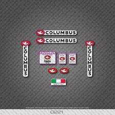 0221 Columbus GARA Bicycle Frame and Fork Stickers - Decals