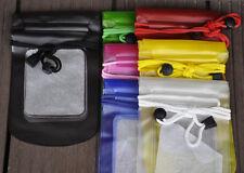 6 Pcs Waterproof Dry Bag Kayak Canoe Fishing Camping For Mobile Phone DC Mp4