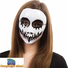 HALLOWEEN HORROR EVIL VENOM SCARY MASK Mens Womens Ladies Fancy Dress Costume