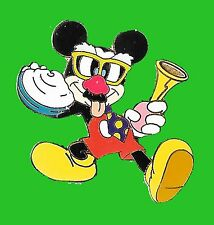 MICKEY MOUSE 2005 CLOWN HORN GLASSES NOSE TONGUE PIN DISNEY AUCTION DISNEYLAND